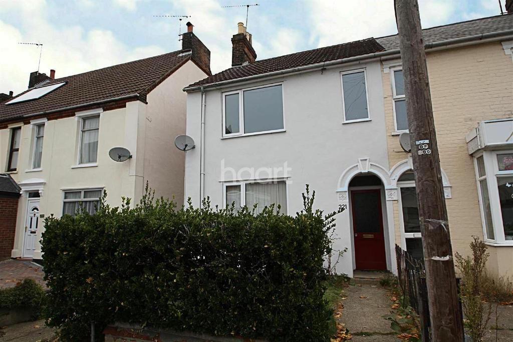 3 Bedrooms Semi Detached House for sale in Rosehill Road, Ipswich