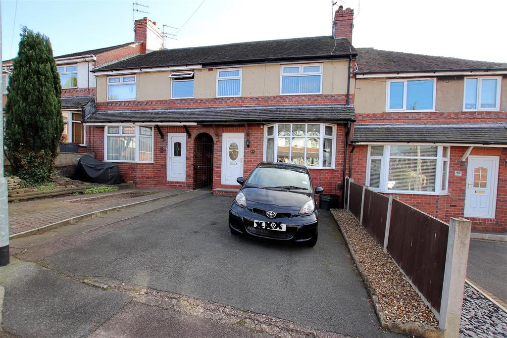 3 Bedrooms Town House for sale in Maureen Grove, May Bank, Newcastle, Staffs