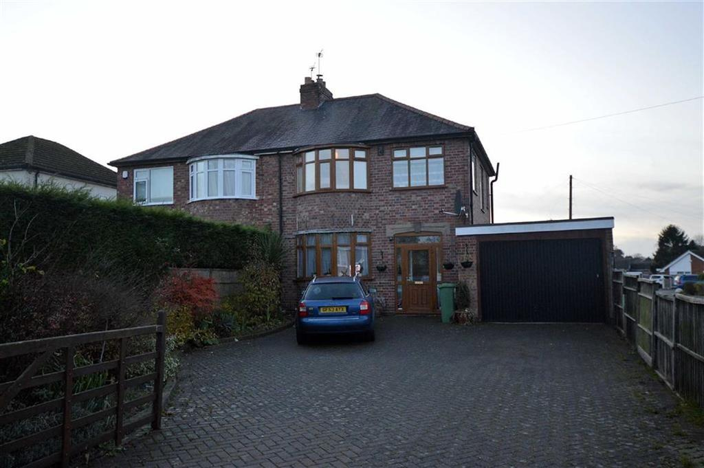 3 Bedrooms Semi Detached House for sale in Charnwood Drive, Leicester Forest East