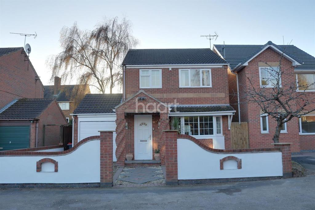 3 Bedrooms Detached House for sale in The Copse, Hucknall