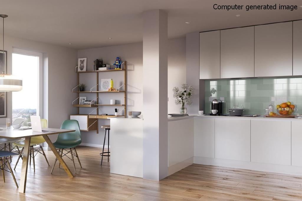 2 Bedrooms Flat for sale in Mapleton Crescent, Wandsworth