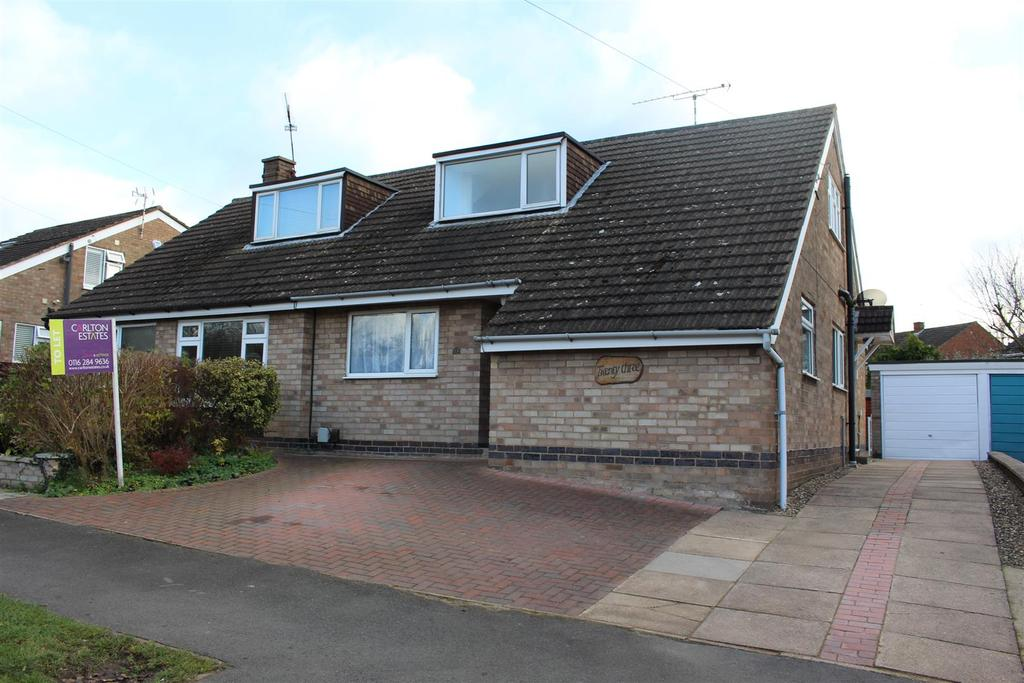 3 Bedrooms Semi Detached House for rent in Gwendoline Drive, Countesthorpe, Leicester