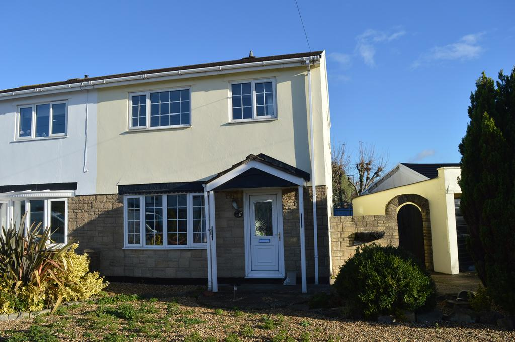 3 Bedrooms Semi Detached House for sale in Anglesey Close, Llantwit Major CF61