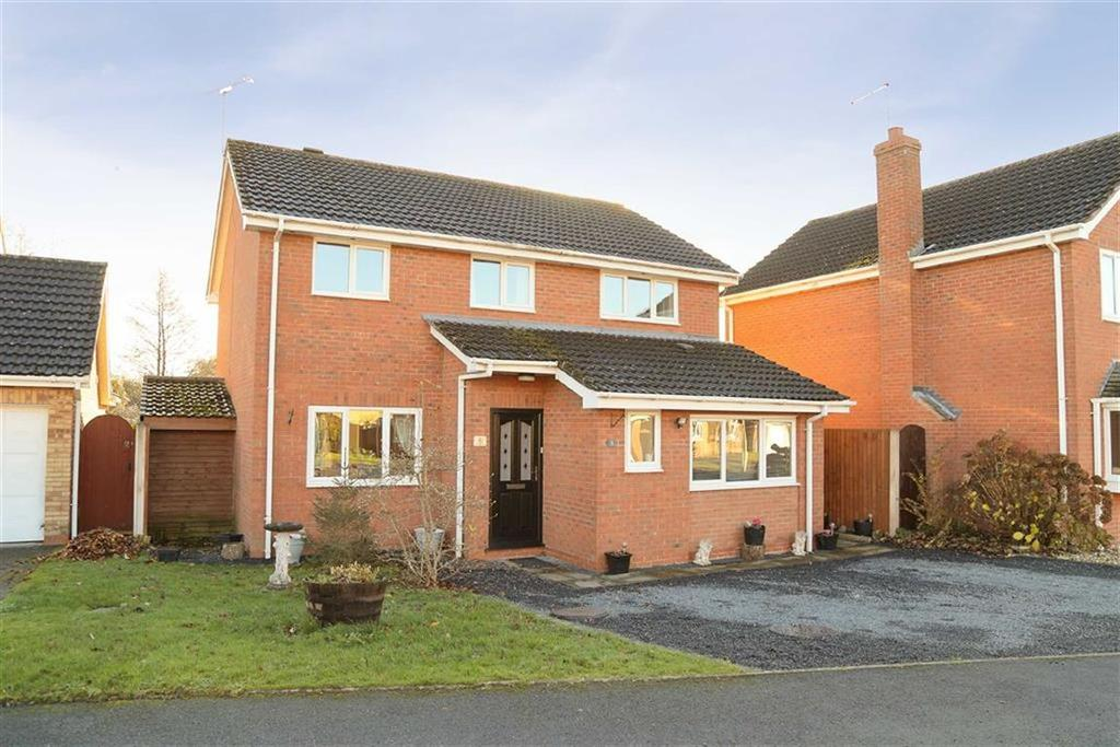 4 Bedrooms Detached House for sale in Greenfields Rise, Whitchurch, SY13
