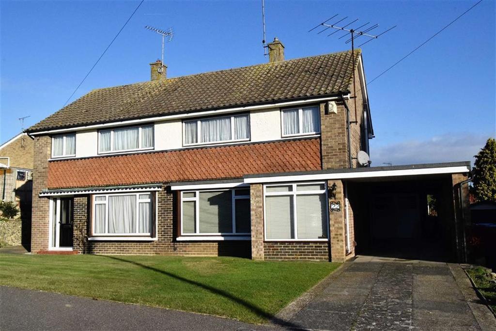 3 Bedrooms Semi Detached House for sale in Cherry Tree Road, Rainham, Kent, ME8