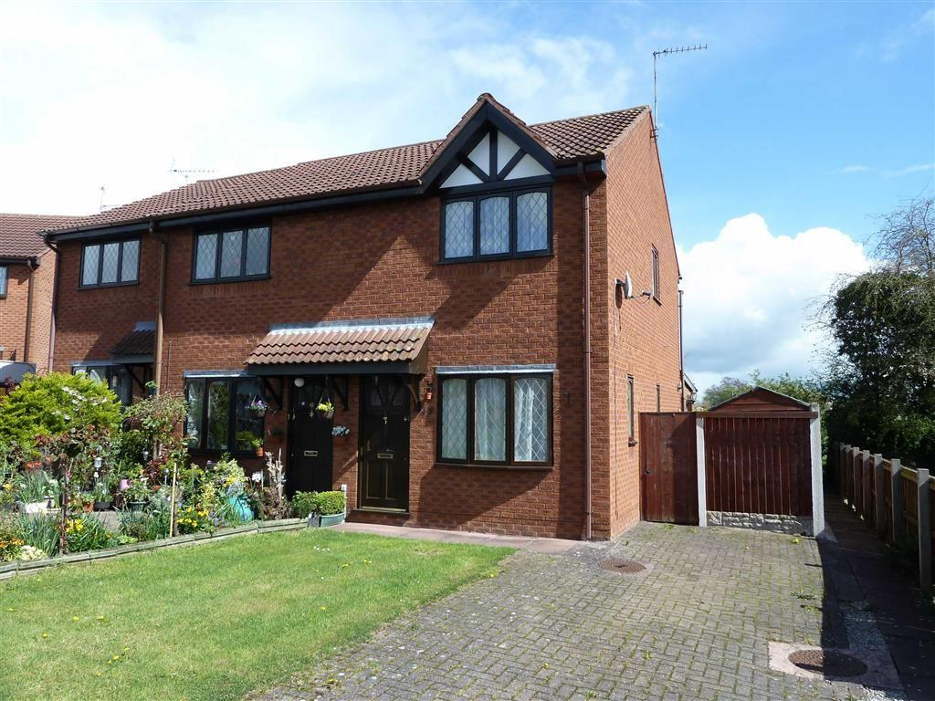 2 Bedrooms Semi Detached House for sale in Hill Park, Dudleston Heath, SY12
