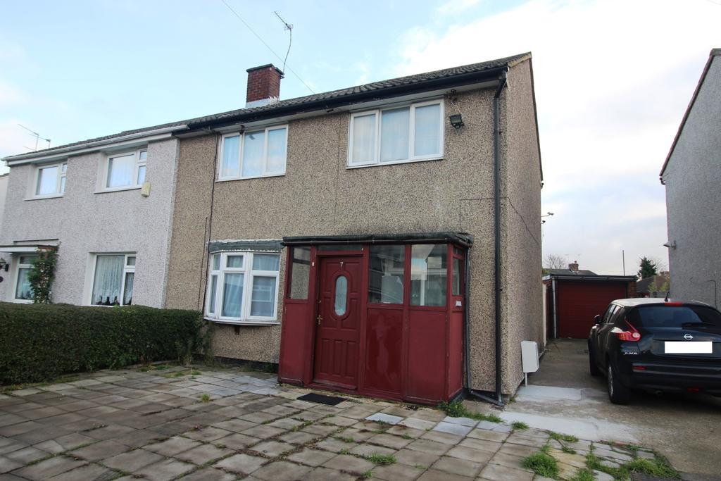 3 Bedrooms Semi Detached House for sale in Craydene Road Erith DA8