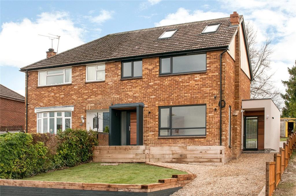 4 Bedrooms Semi Detached House for sale in St. Stephens Road, Winchester, Hampshire, SO22