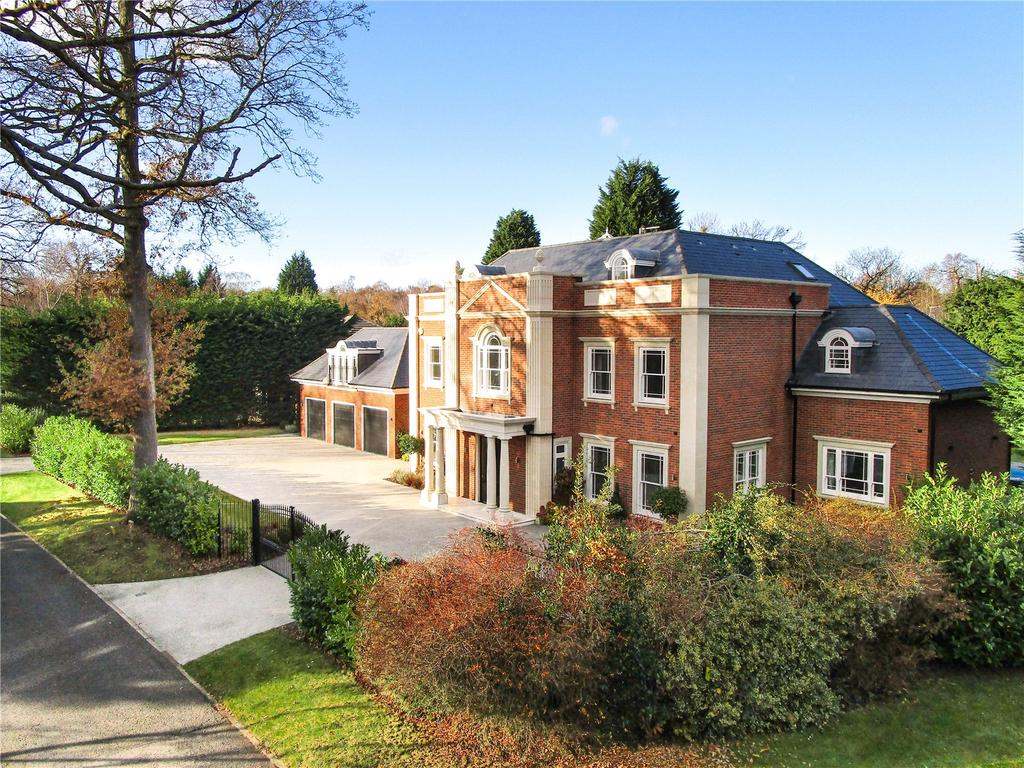 6 Bedrooms Detached House for sale in Cranley Road, Burwood Park, Walton-on-Thames, Surrey, KT12