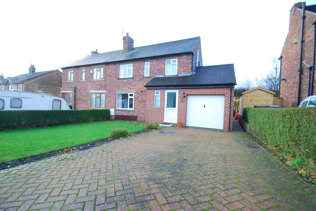 3 Bedrooms Semi Detached House for sale in Mayfield, Oxspring, Sheffield
