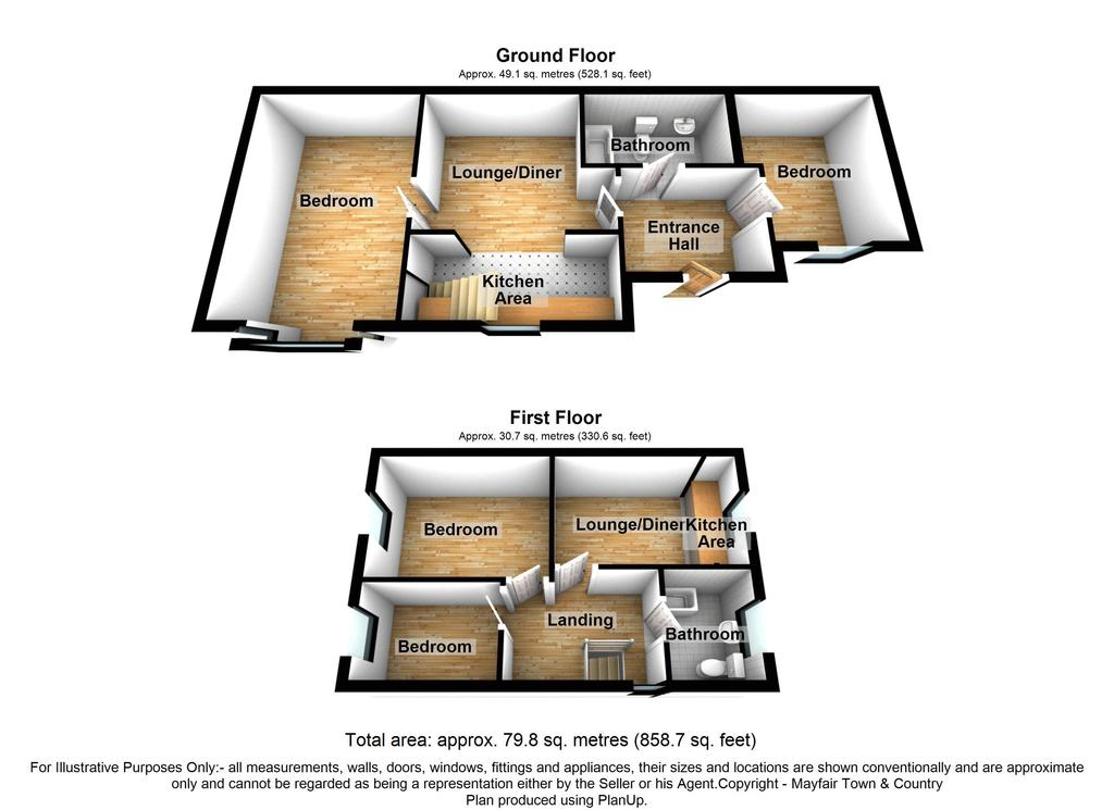Floorplan: Russell Road