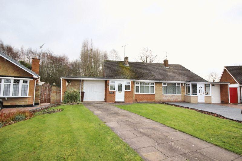2 Bedrooms Semi Detached Bungalow for sale in Marklin Avenue, Oxley, Wolverhampton