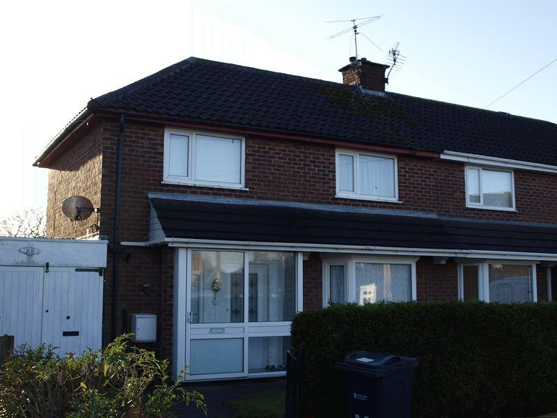 2 Bedrooms Semi Detached House for sale in Mount Pleasant Road, Davenham, CW9 8JQ