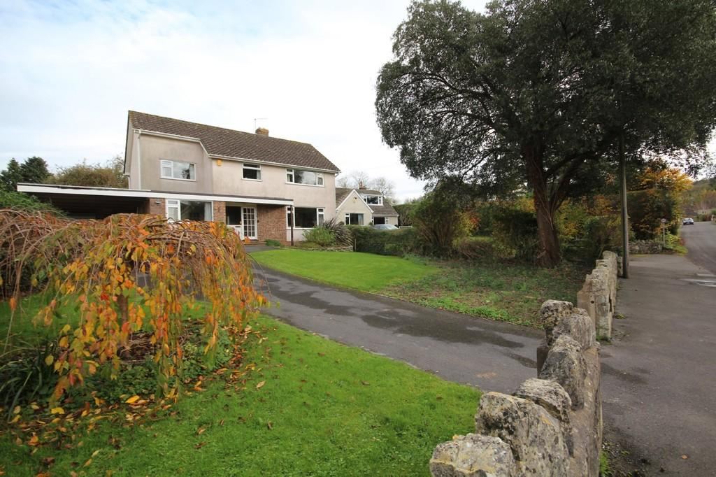 4 Bedrooms Detached House for sale in On one of Bishop Sutton's most popular roads and ripe for improvement!