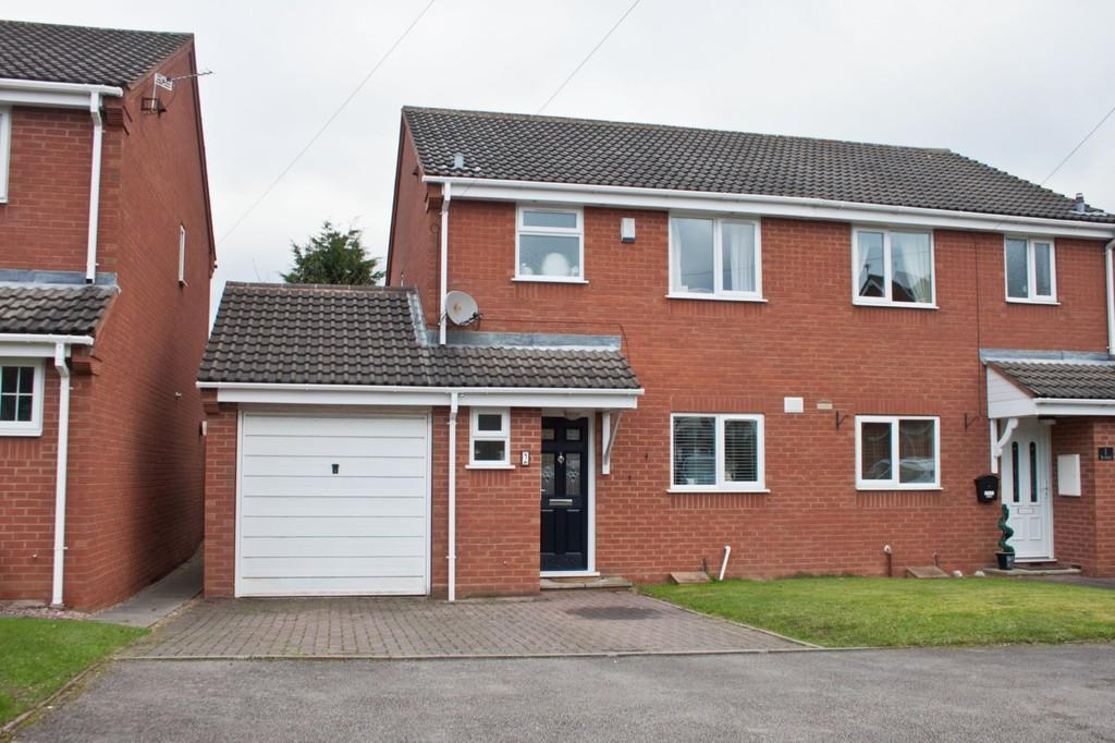 3 Bedrooms Semi Detached House for sale in The Orchard, Burntwood