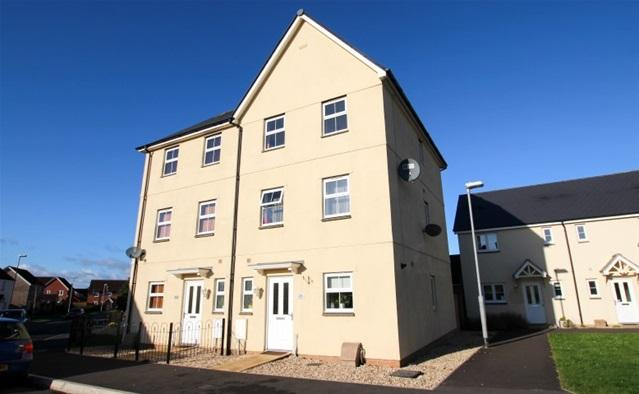 4 Bedrooms Semi Detached House for sale in Tundra Walk, Bridgwater