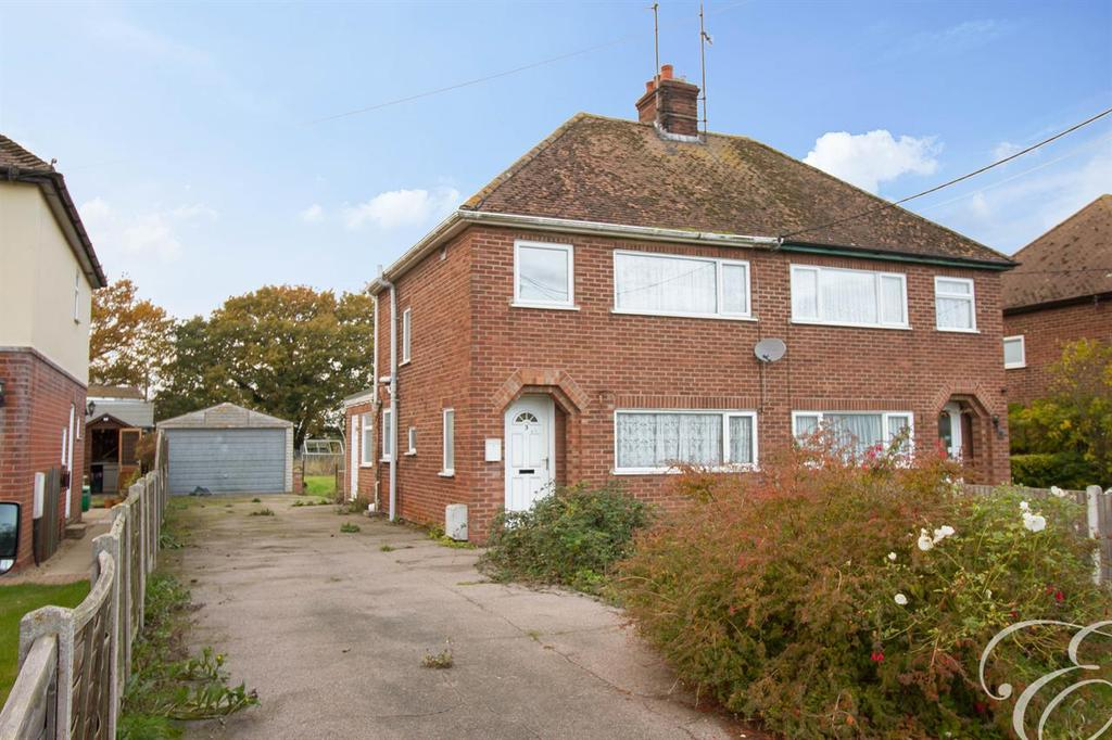 3 Bedrooms Semi Detached House for sale in Clacton Road, Wix, Manningtree