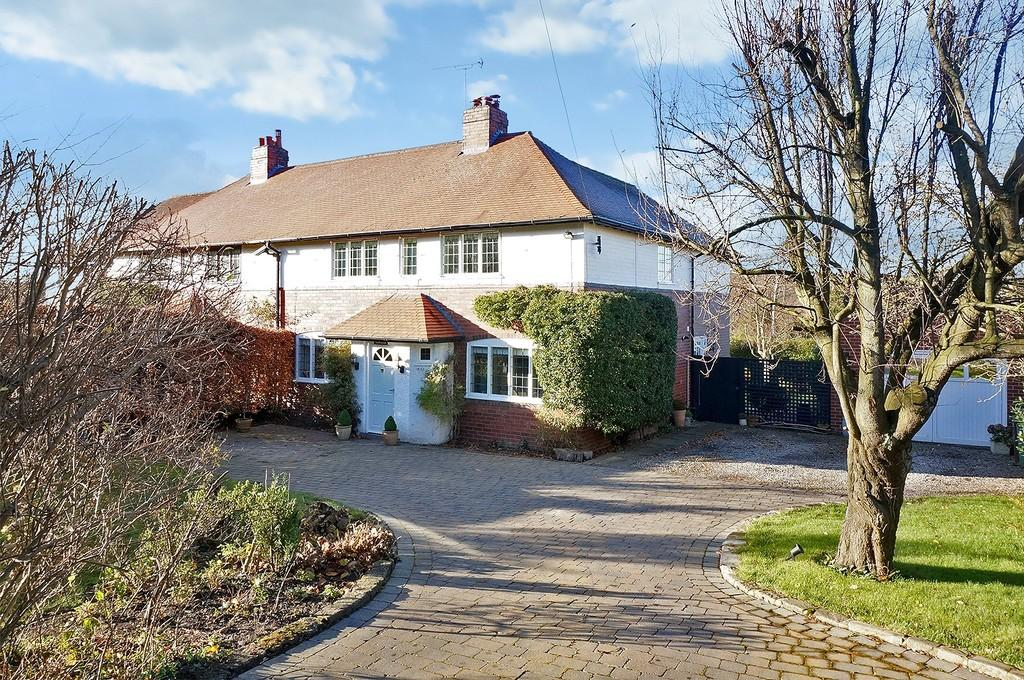 4 Bedrooms Semi Detached House for sale in Wetherby Road, Bardsey, LS17