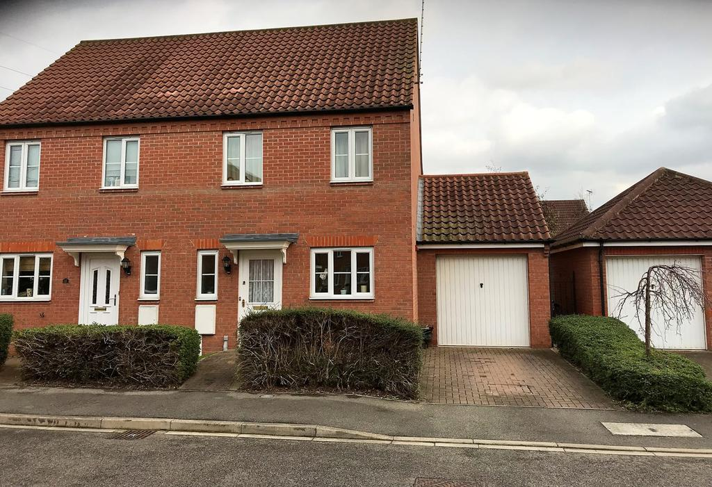 3 Bedrooms Semi Detached House for sale in Cowslip Crescent, Bourne, PE10
