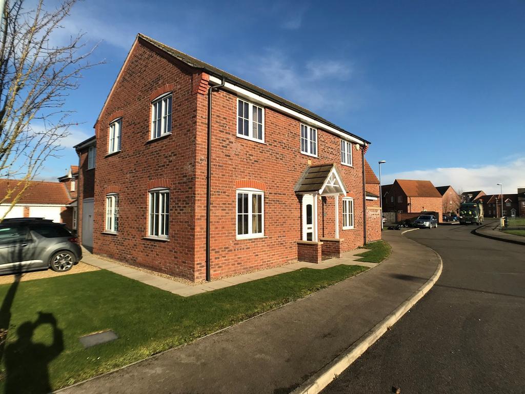4 Bedrooms Detached House for sale in Gershwin Lane, Spalding, PE11