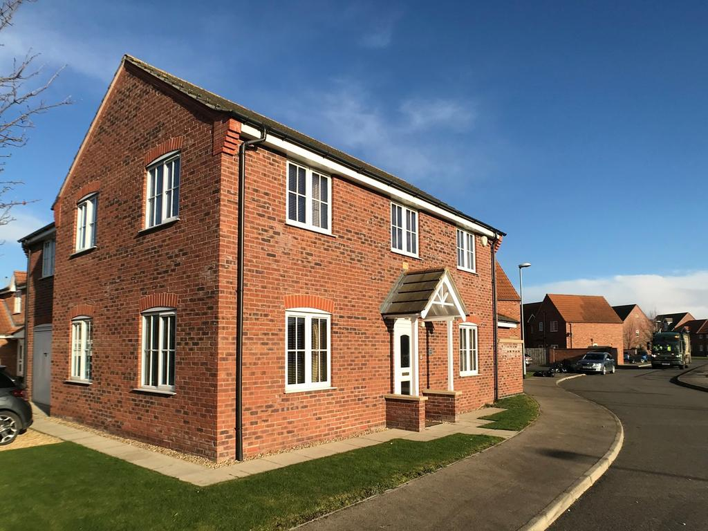 4 Bedrooms Detached House for sale in Gershwin Lane, Spalding, PE11