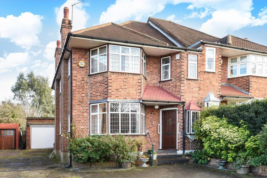 3 Bedrooms Semi Detached House for sale in Abbotshall Avenue, Southgate