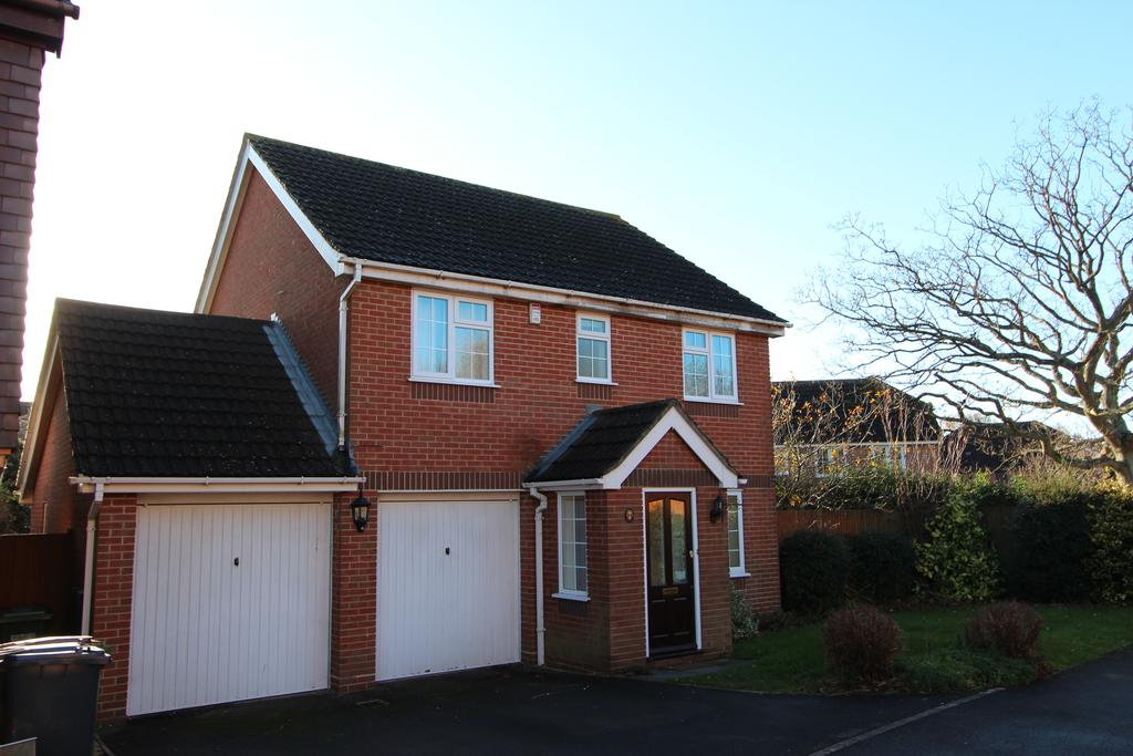 4 Bedrooms Detached House for rent in Gresley Gardens, Hedge End SO30