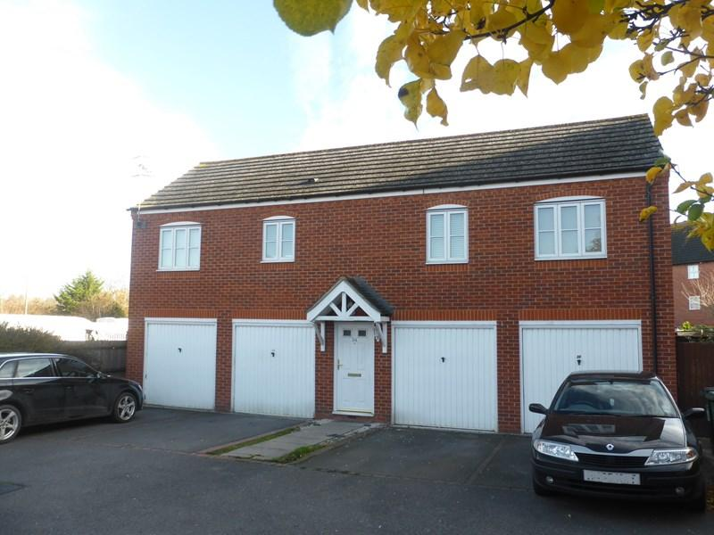 2 Bedrooms Detached House for sale in Wood End, Evesham
