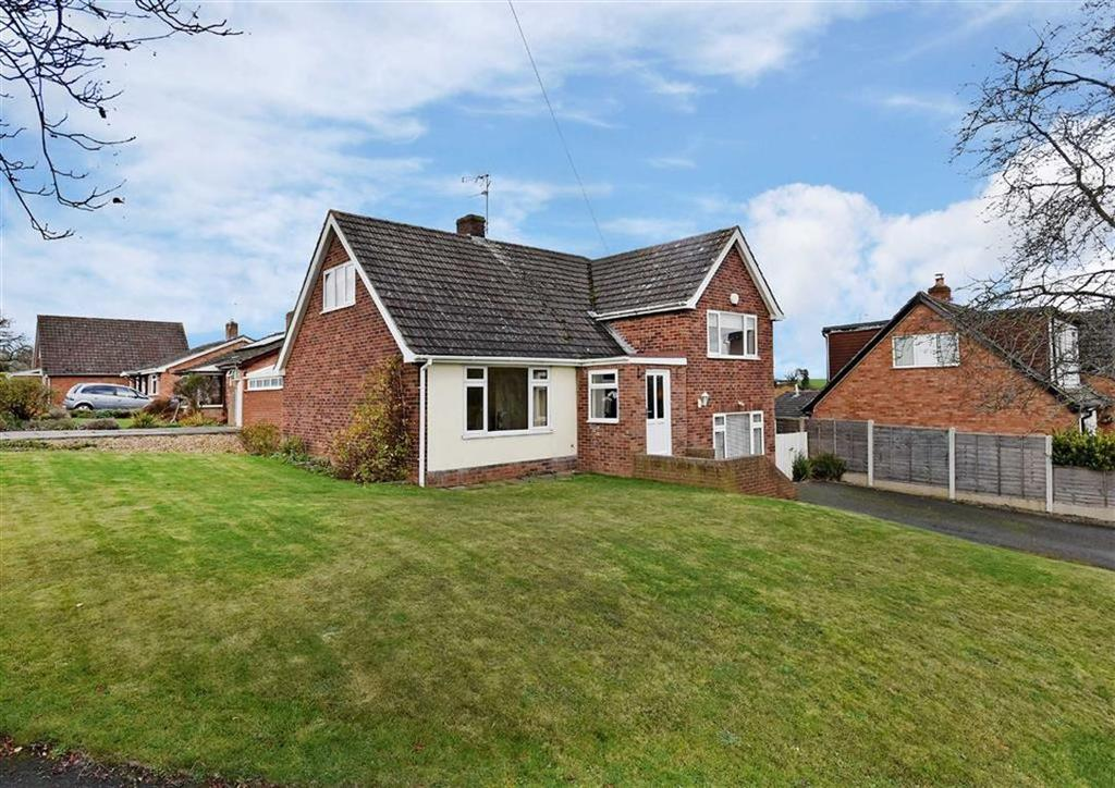 3 Bedrooms Detached House for sale in 5, Greenfields Drive, High Town, Bridgnorth, Shropshire, WV16