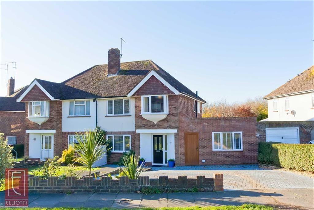 4 Bedrooms Semi Detached House for sale in Hangleton Way, Hove, East Sussex