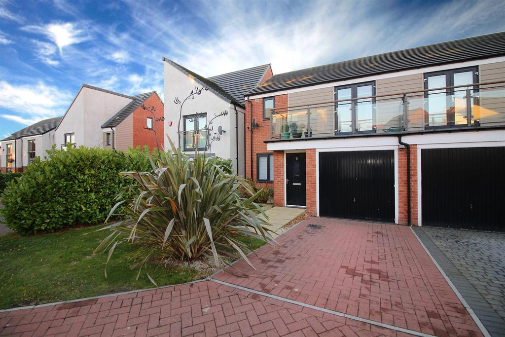 3 Bedrooms Semi Detached House for sale in Bowden Close, Great Park, Newcastle Upon Tyne