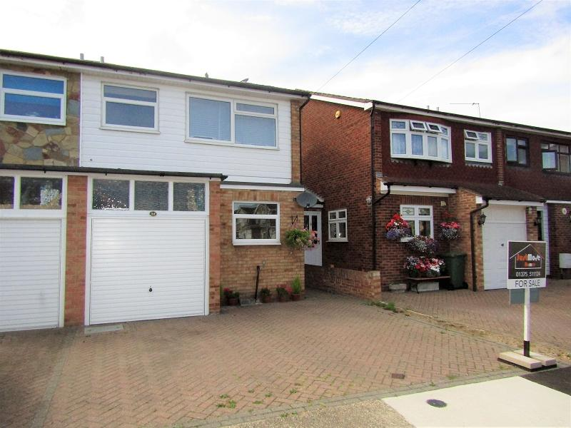 3 Bedrooms Semi Detached House for sale in Kathleen Close, Stanford-le-hope, Essex. SS17 8EA