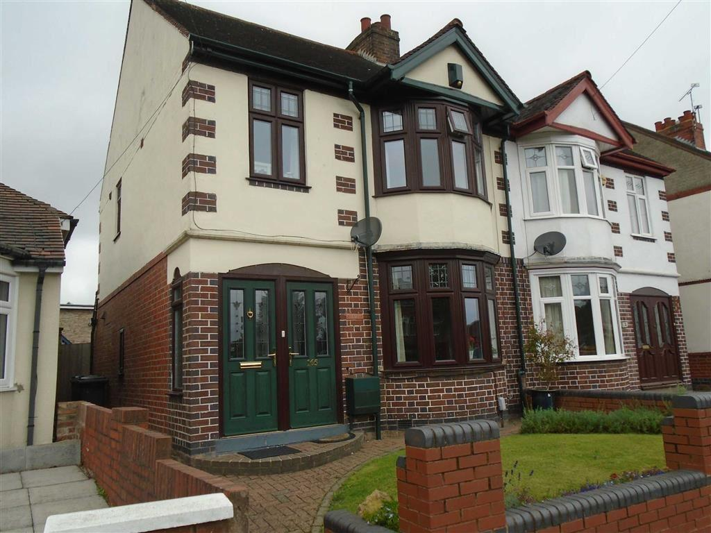3 Bedrooms Semi Detached House for sale in Attleborough Road, Attleborough, Nuneaton, Warwickshire, CV11