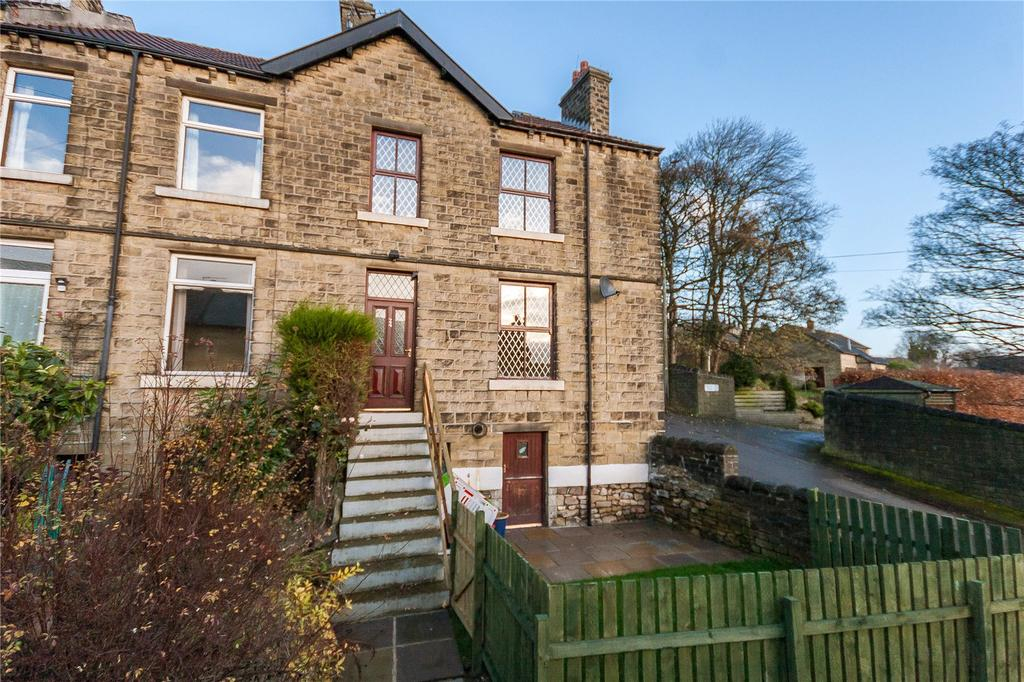 4 Bedrooms End Of Terrace House for sale in Myrtle Road, Golcar, Huddersfield, HD7