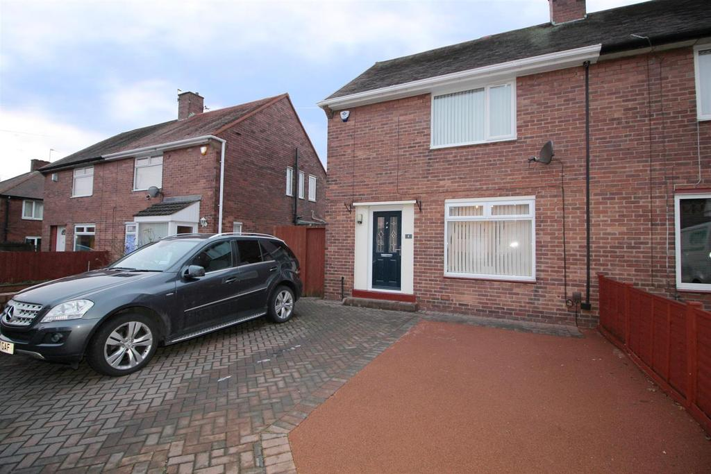 2 Bedrooms Semi Detached House for sale in Fawdon Place, North Shields