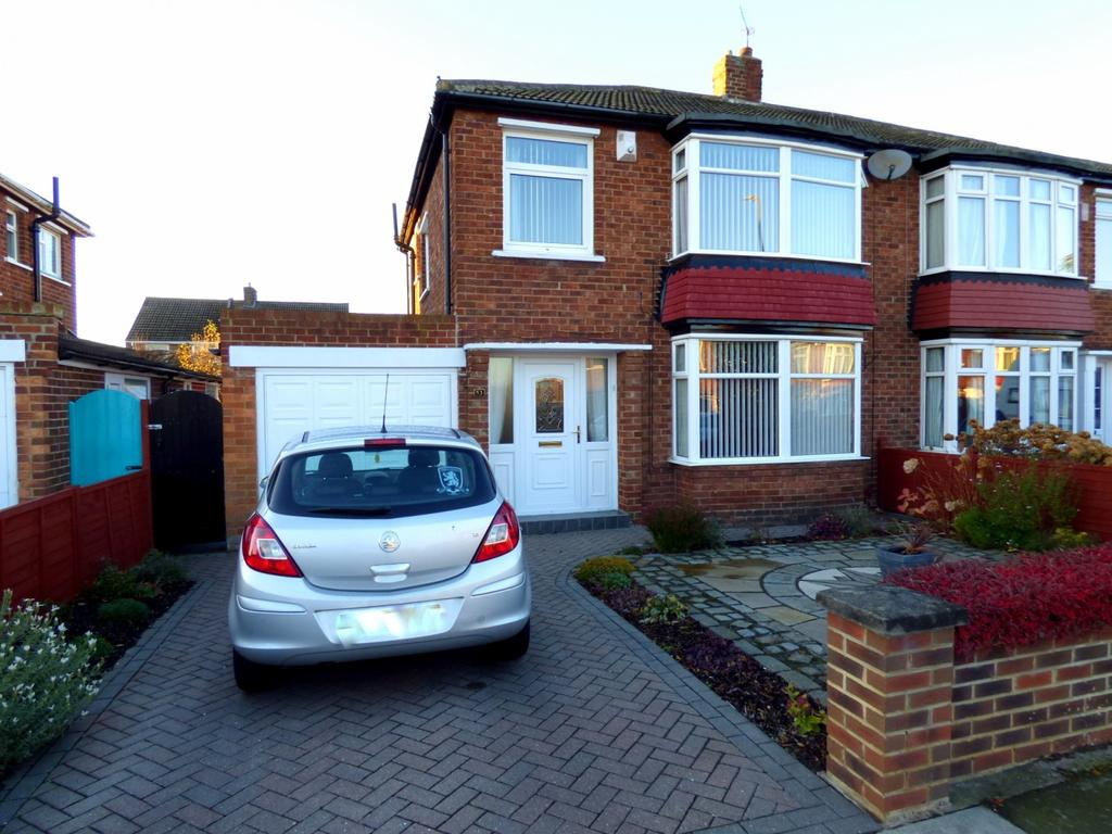 3 Bedrooms Semi Detached House for sale in Upsall Grove, Stockton-On-Tees, TS19