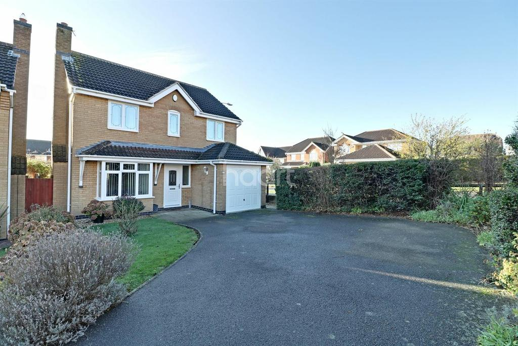4 Bedrooms Detached House for sale in Mendip Close, Gonerby Hill Foot, Grantham