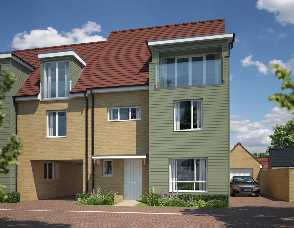 4 Bedrooms Semi Detached House for sale in Eagle Rise, Channels Drive, Chelmsford, Essex, CM3