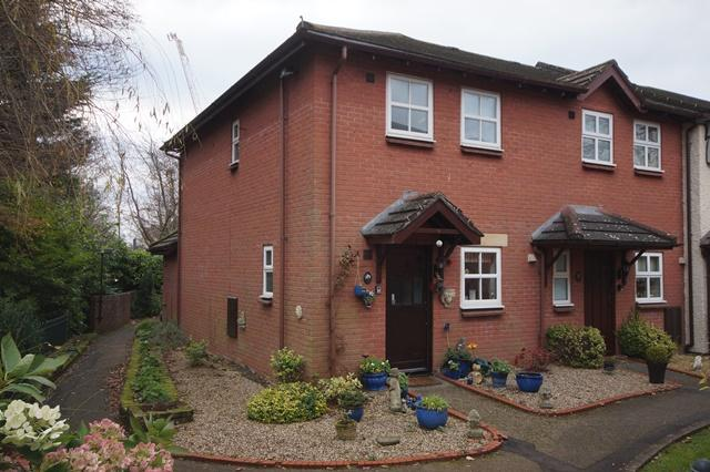 2 Bedrooms End Of Terrace House for sale in Cwrt Glas, Ty Glas Road, Llanishen, Cardiff CF14