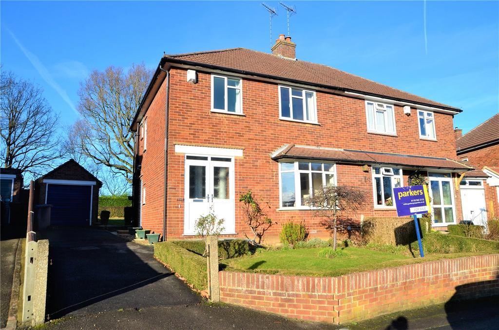 3 Bedrooms Semi Detached House for sale in Pegs Green Close, Reading, Berkshire, RG30