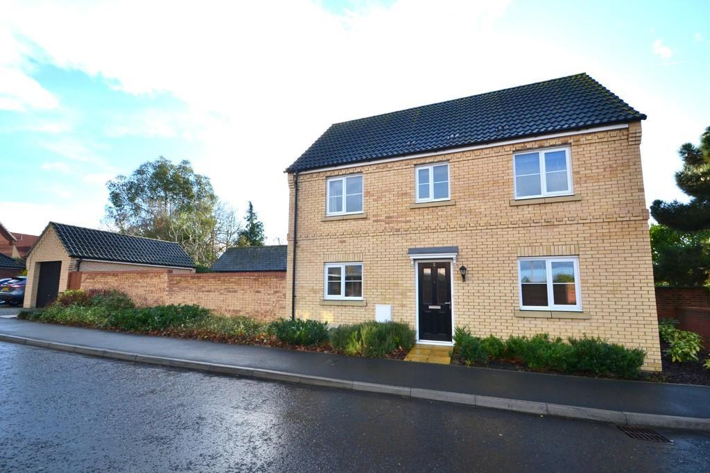 3 Bedrooms Detached House for sale in Malkin Close, Ipswich, IP1 6FE