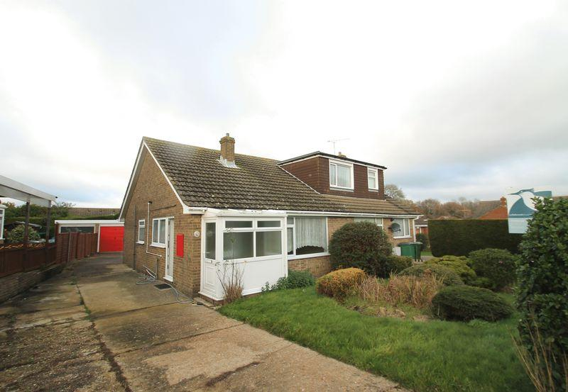 2 Bedrooms Semi Detached Bungalow for sale in Hawkinge, Folkestone