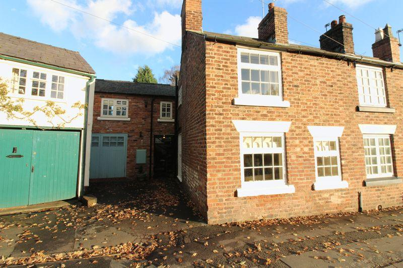 2 Bedrooms Terraced House for sale in Burton Square, Tarporley