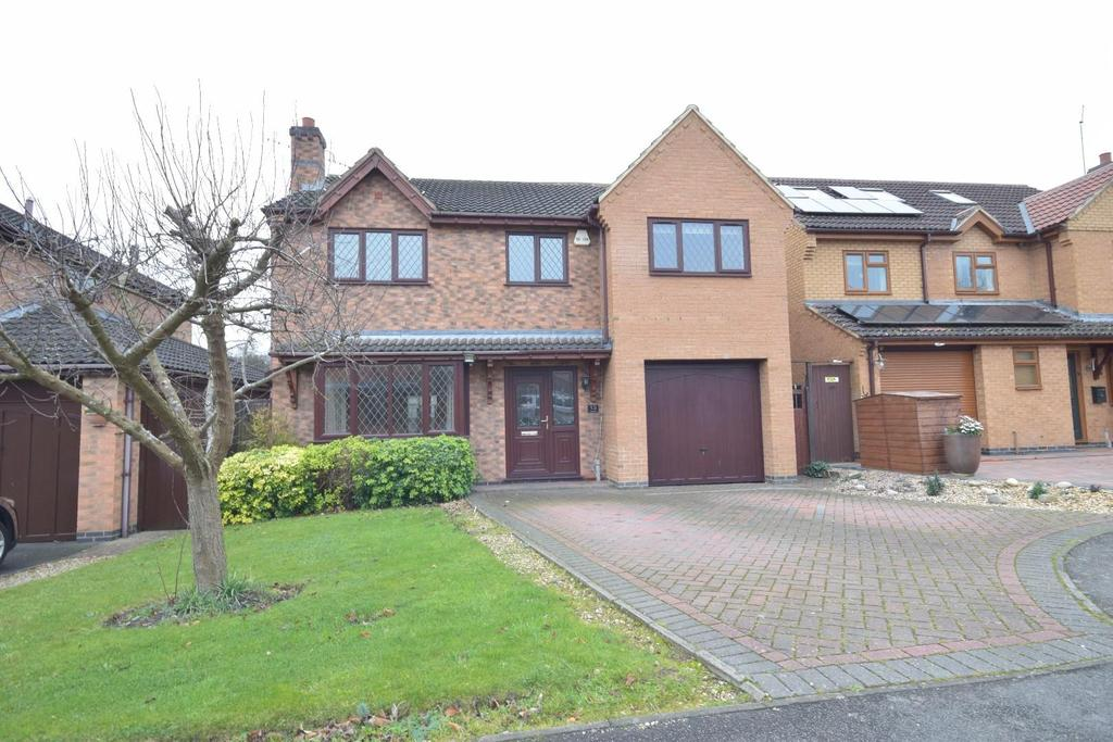 4 Bedrooms Detached House for sale in Outstanding Home -Vickers Close, Rothwell