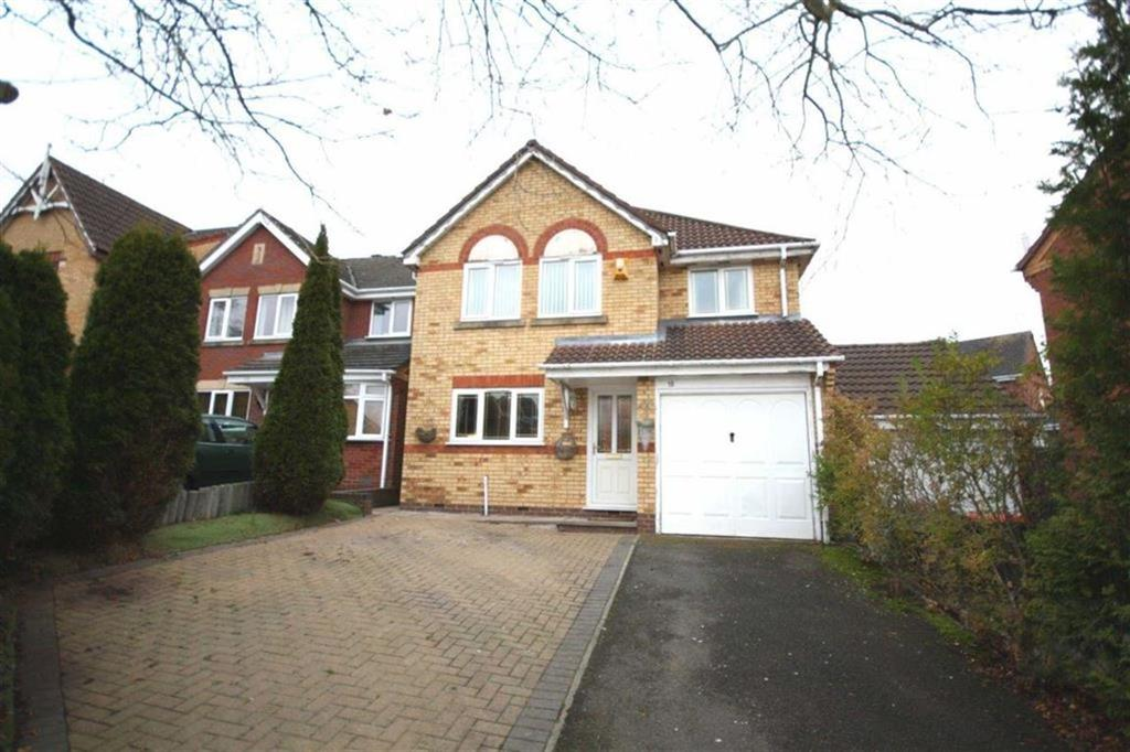 4 Bedrooms Detached House for sale in Laurel Drive, Hartshill, Nuneaton