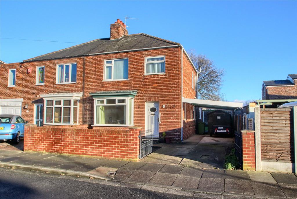 3 Bedrooms Semi Detached House for sale in Merville Avenue, Stockton-on-Tees