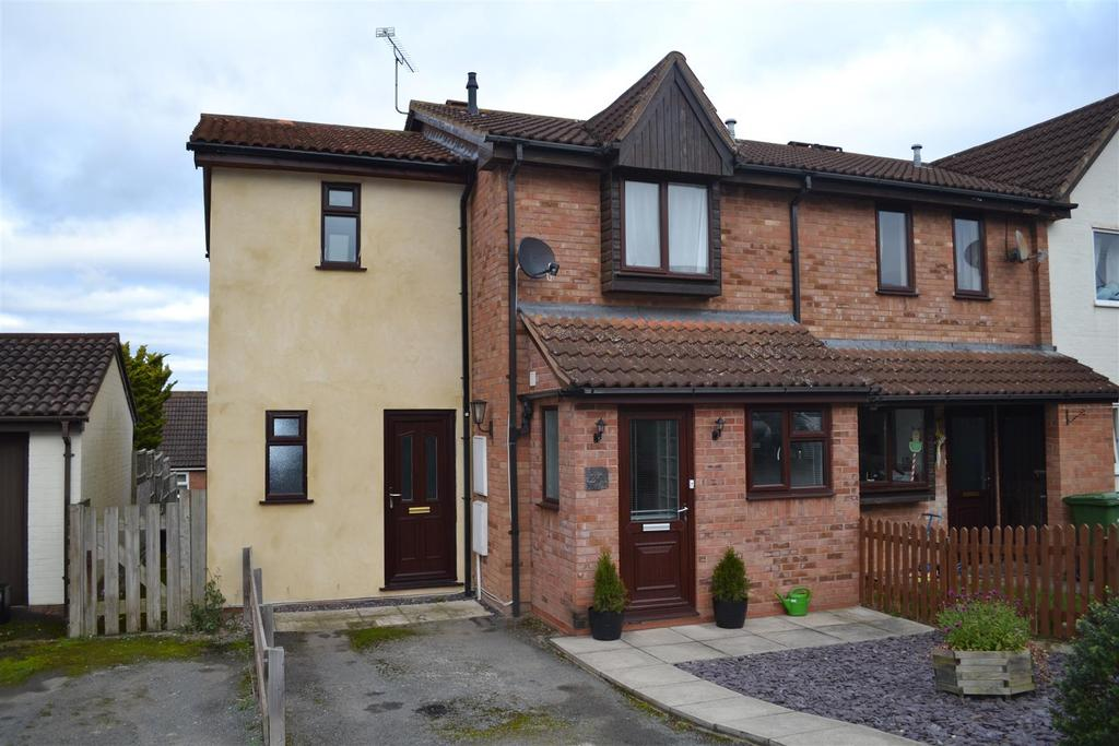 3 Bedrooms Terraced House for sale in Oaker View, Leominster