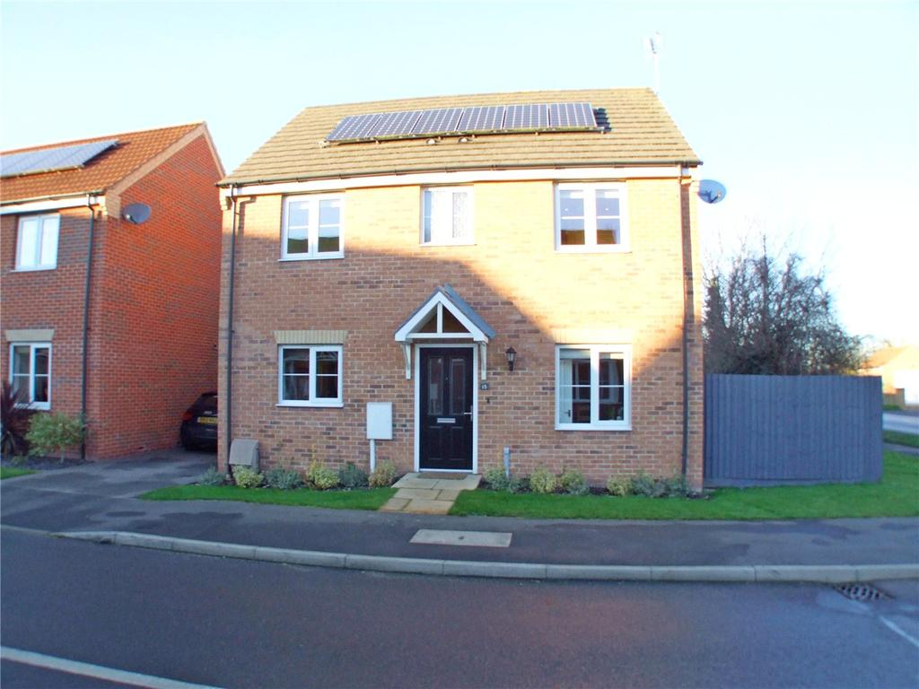 4 Bedrooms Detached House for sale in Windmill Close, Deeping St. James, Peterborough, PE6
