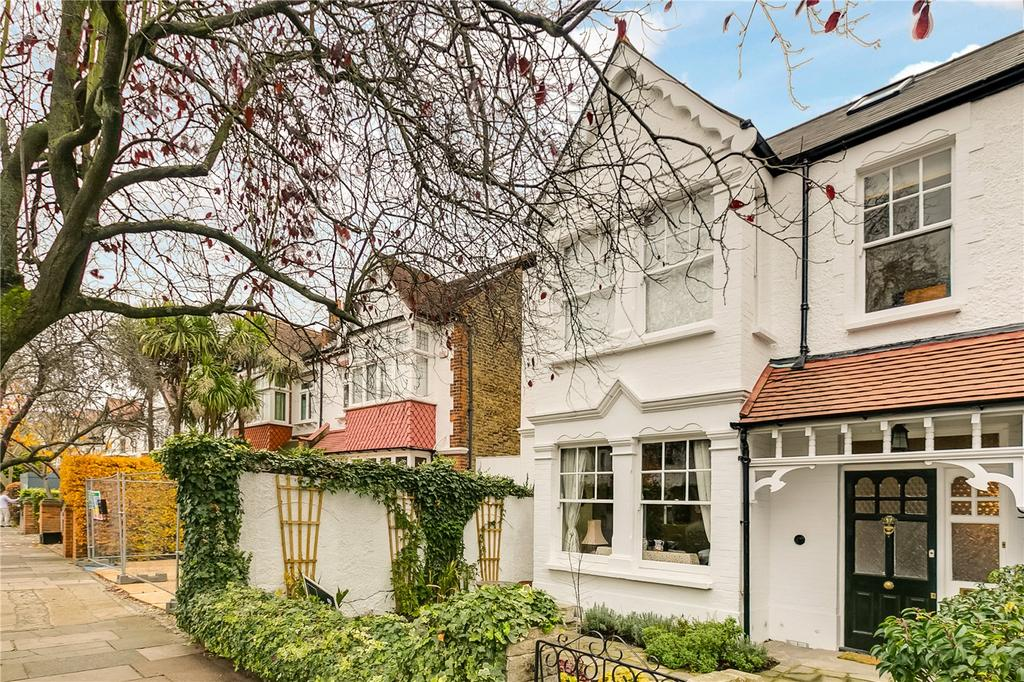 5 Bedrooms Semi Detached House for sale in Nassau Road, Barnes, London