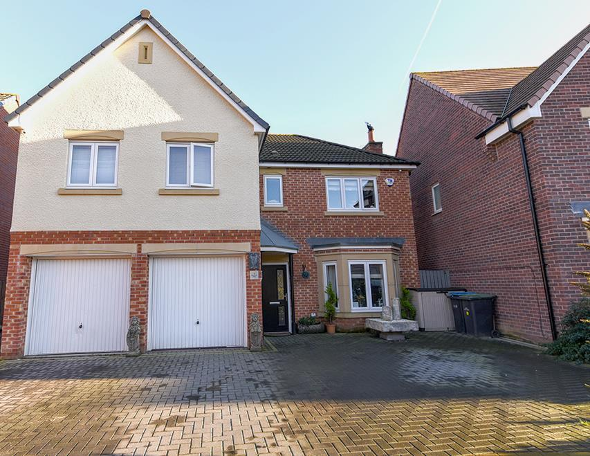 5 Bedrooms Detached House for sale in Annand Way, Newton Aycliffe